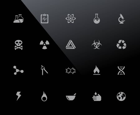 Science Icons - 32px Series - Vector icons adjusted to work in a 32 pixel grid.