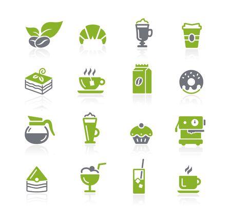 Coffee Shop Icons // Natura Series