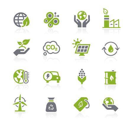Ecology & Renewable Energy Icons // Natura Series
