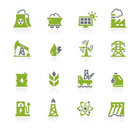 Energy Icons // Natura Series Ilustrace