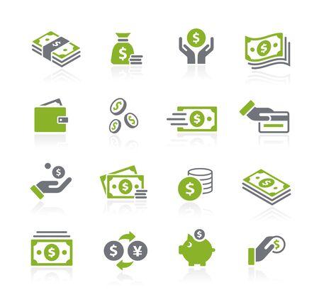 Money Icons // Natura Series Ilustração