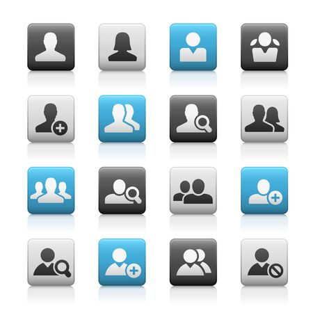 Avatar Icons // Matte Series