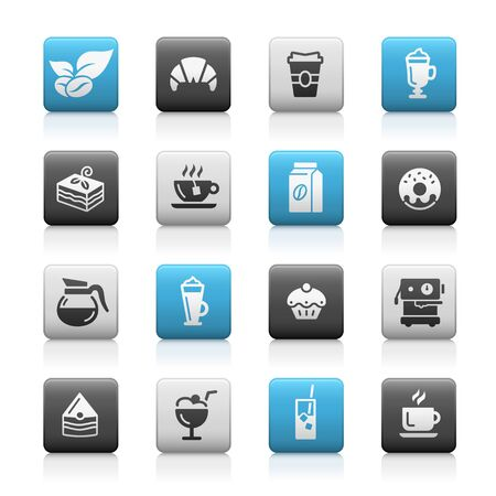 Coffee Shop Icons // Matte Series