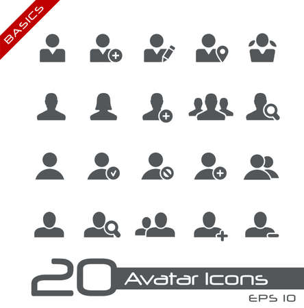 Avatar Icons // Basics