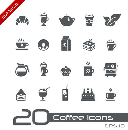 Coffee Shop Icons // Basics