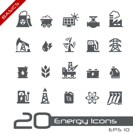 Energy Icons // Basics