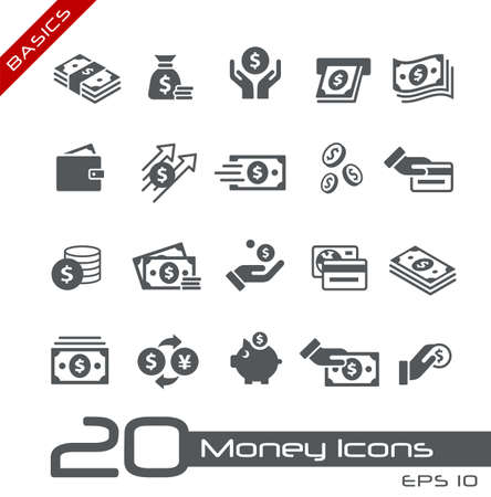 Money Icons // Basics