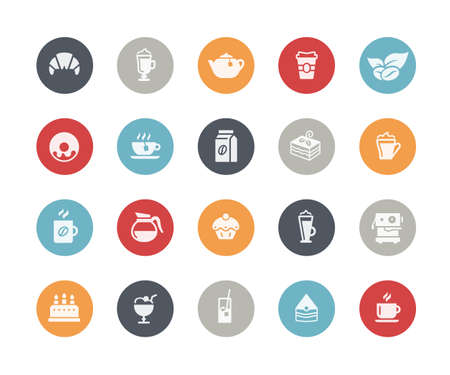 Coffee Shop Icons Classics Series