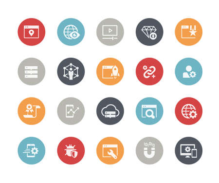 SEO and  Digital Marketing Icons 2 of 2  Classics Series