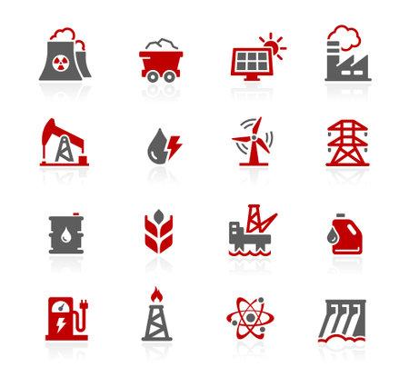 Energy Icon Set - Redico Series