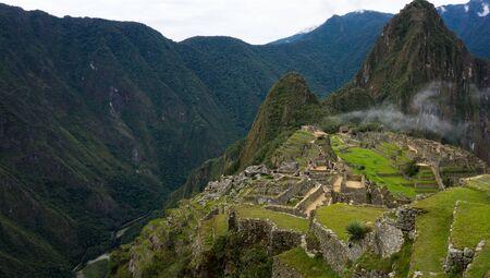 Great Panoramic of Machu Picchu, Cusco Peru