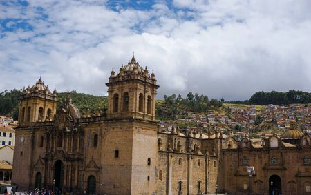Plaza de Armas in Cusco Peru
