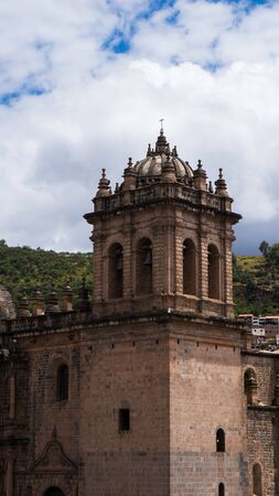 Cusco Cathedral located on the main square of Cusco in Peru Banque d'images