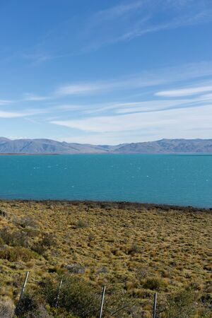Lago Argentino is the largest and southernmost of the great Patagonian lakes in Argentina