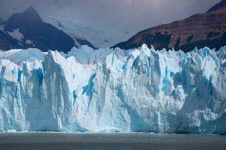 Big ice trekking in Perito Moreno glacier Argentina