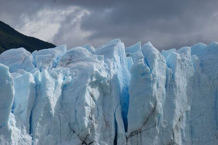 Perito Moreno Glacier, National Park Los Glasyares, Patagonia, Argentina Banque d'images