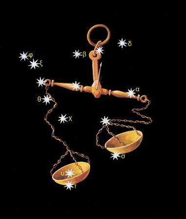 sagittarius: Libra zodiac icon