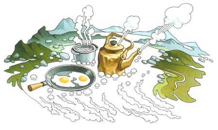 Hot spring (Geyser)