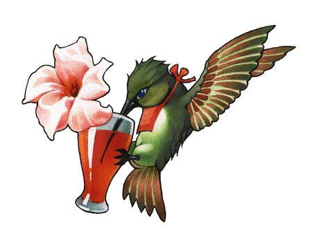 teeny: hummingbird_1  Stock Photo