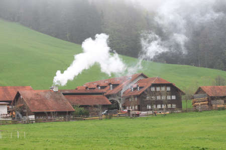 Farm in the Swiss Alpes