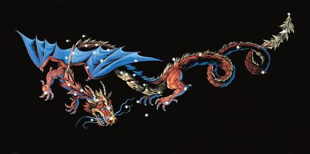 Constellation The Dragon (Draco)  photo