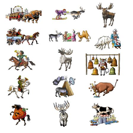 The various animals_2