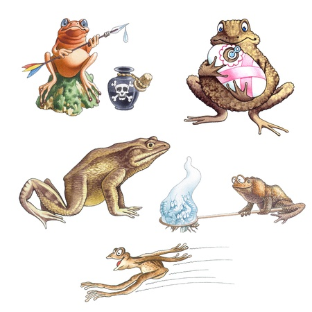 poisoned: Frogs_2 Stock Photo