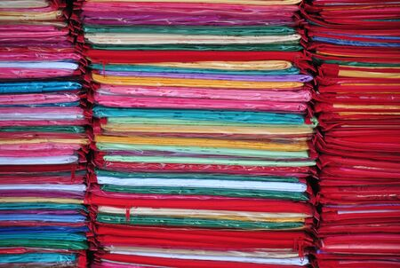 cloth stack ,Thailand