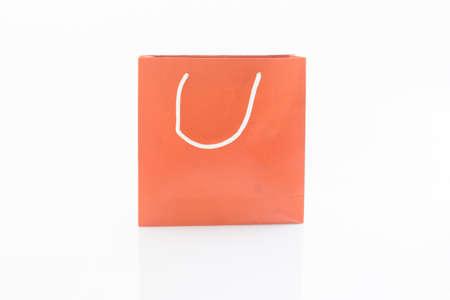 Red Geschenk-Taschen isoliert auf weißem Hintergrund Standard-Bild - 31362934