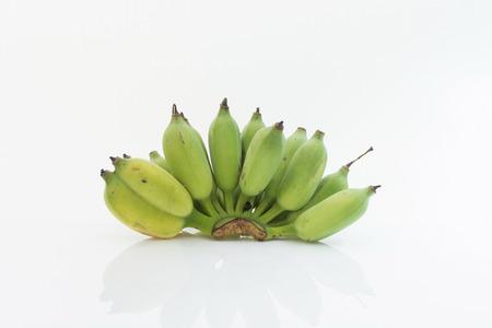 Bananen isoliert als weißen Hintergrund Standard-Bild - 31362936