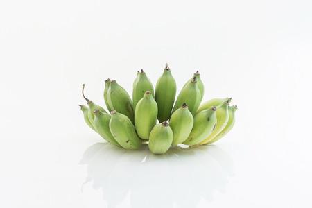 Bananen isoliert als weißen Hintergrund Standard-Bild - 31362938