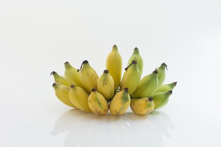 Bananen isoliert als weißen Hintergrund Standard-Bild - 31362944