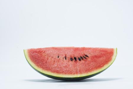 Melon Isolat auf dem weißen Hintergrund Standard-Bild - 47162393
