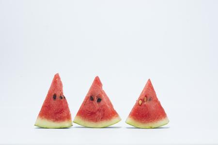 Melon Isolat auf dem weißen Hintergrund Standard-Bild - 47162598