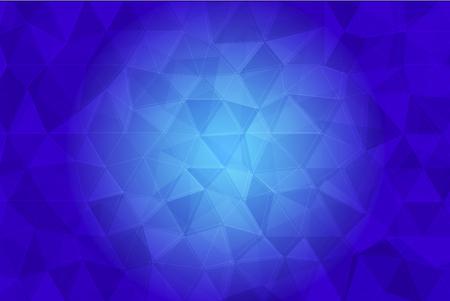 Blaue Farbe Low-Poly-Hintergrund Standard-Bild - 47327323