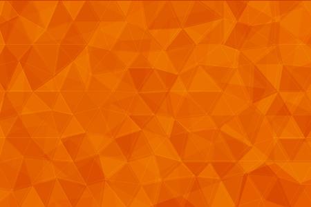 Orange Farbe Low-Poly-Hintergrund Standard-Bild - 47327410