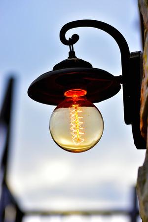 antique: Antique lamp Stock Photo