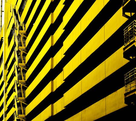 yellow: yellow building Stock Photo