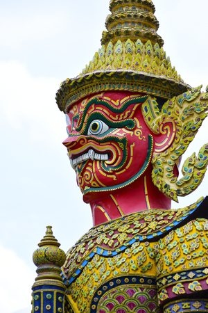 Giant of The Emerald Buddha Temple