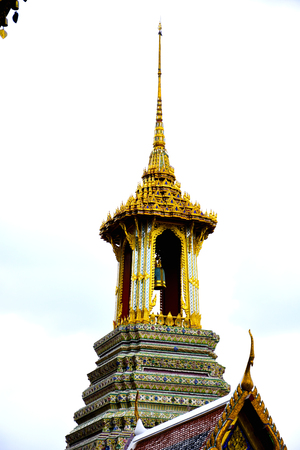 phra si rattana chedi: The Bellfry