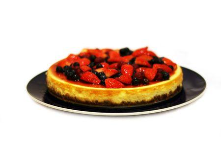 bliss: Dessert Bliss - Cheese Cake Stock Photo