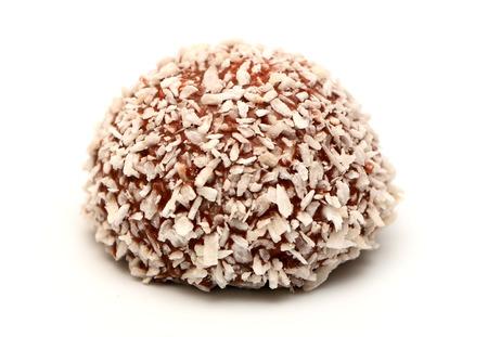 boule de neige: Coconut Snowball Banque d'images