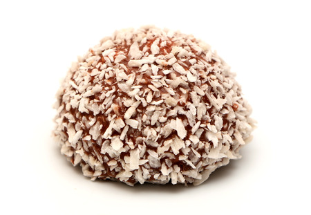 goodie: Coconut Snowball Stock Photo