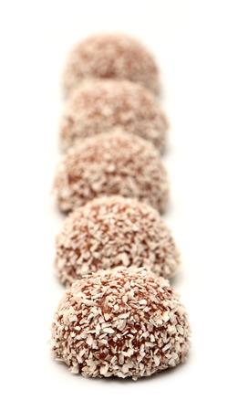 goodie: Chocolate Coconut Snowball