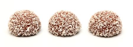 boule de neige: Chocolate Coconut Snowball