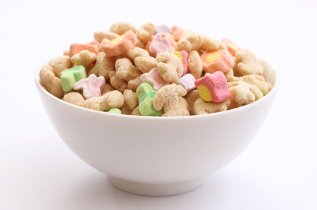 Marshmallow Cereal Banque d'images