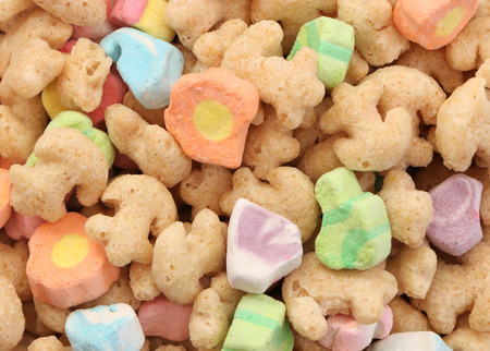 cereal: Marshmallow Cereal Stock Photo