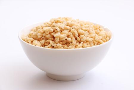 arroz: Crujiente de cereal de arroz Foto de archivo