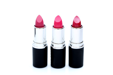 triplet: Lipstick Stock Photo