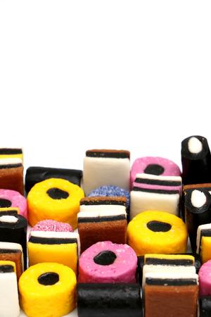 licorice: Licorice Sweets Stock Photo